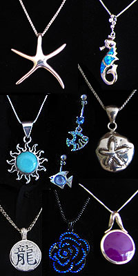 North Caicos jewelry for sale at Victoria Gift Shop