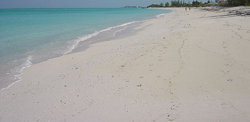 Whitby Beach on North Caicos