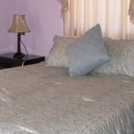 Bedroom 2 - queen size bed with air conditioning and celing fan