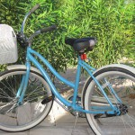 Bicycling on North Caicos