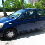 Rent this car on North Caicos Toyota Vitz - Seats 4 Car for rent on North Caicos